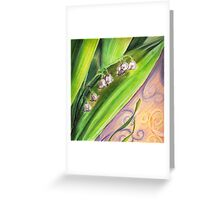 Aunt Puff - Lily of the Valley Greeting Card
