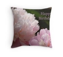 Happy Birthday (for Virginian Photography) Throw Pillow