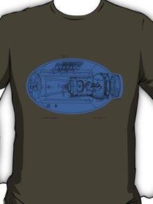 Mega Buster Schematic Shirt T-Shirt