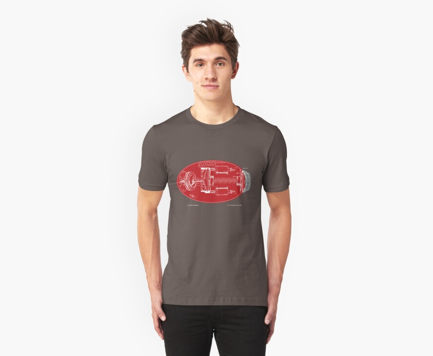 Proto Buster Schematic Shirt by thedailyrobot