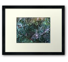 Whirligig on the waters of fall Framed Print