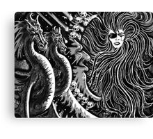 """""""Encounter With Circe"""" Canvas Print"""