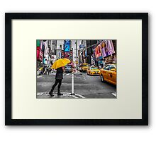 Travel in New York city Framed Print