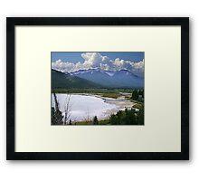 Sundance Range, Banff Framed Print