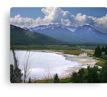 Sundance Range, Banff Canvas Print