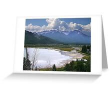 Sundance Range, Banff Greeting Card