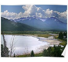 Sundance Range, Banff Poster