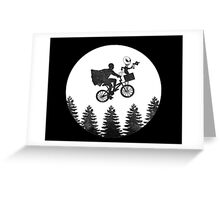 The Extraterrestrial Cowboy Greeting Card