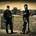 CIVIL WAR SOLDIERS FT. DELAWARE (cir. 2011) by RGHunt