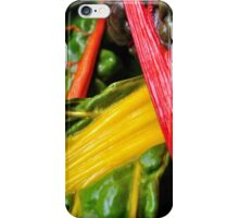 Colourful Greens iPhone Case/Skin