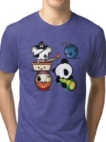 Mikoto 4th Birthday Tri-blend T-Shirt