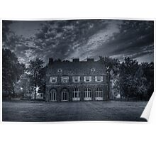 Hayfield House (side view) July 2011 Poster
