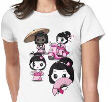 Mikoto 4th Birthday Geishas Womens Fitted T-Shirt