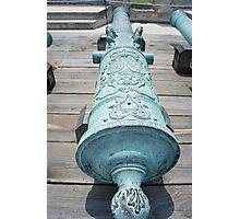 Spanish Cannon Photographic Print