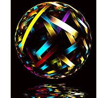Glass Ball Photographic Print