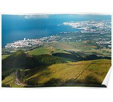 Ponta Delgada and Lagoa Poster