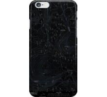 USGS Topo Map Oregon Pinhead Buttes 20110811 TM Inverted iPhone Case/Skin
