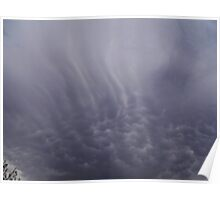 Mammatus Cloud - Ominus looking Poster