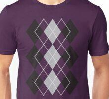 Purple Argyle  Unisex T-Shirt