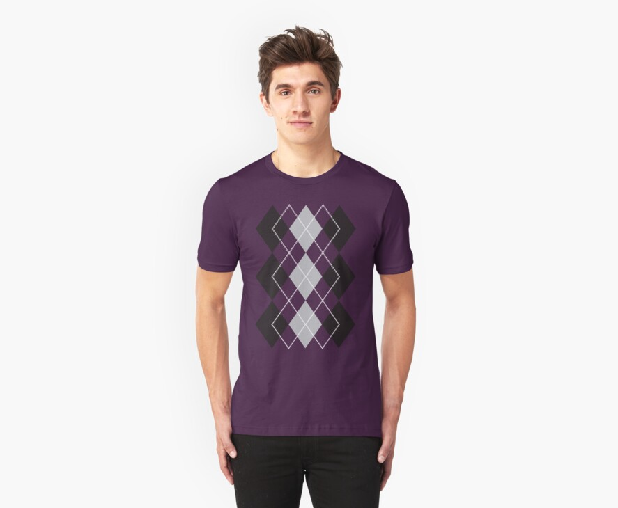 Purple Argyle  by ZachyMassacre