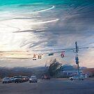 Warren Road Looking West  by Sarah Butcher