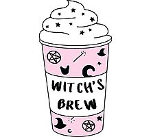 Witch's Brew Coffee ♥ Trendy/Hipster/Tumblr Meme Photographic Print