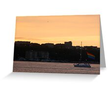 Pride on the Hudson..2 Greeting Card