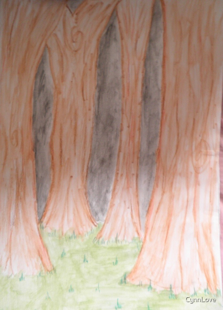 Empty Woods. by CynnLove