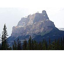 Castle Mountain Photographic Print
