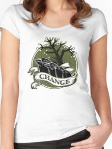 Darwin's Finches Women's Fitted Scoop T-Shirt