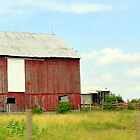 Farm from the Car by Chuck Chisler