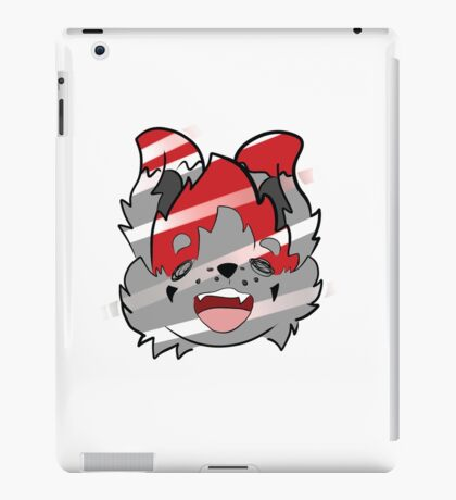 The Silly Fox - Head iPad Case/Skin