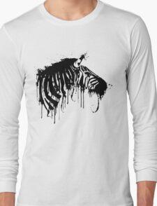 Eroding Stripes Long Sleeve T-Shirt