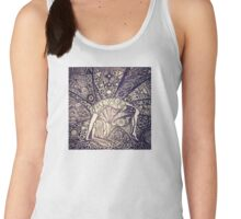 Chakrasana, just open your heart Women's Tank Top