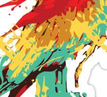 Splash The Parrot.. Sticker