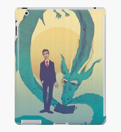 Me  and  the  dragon! iPad Case/Skin