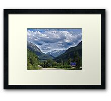 A Road Less Traveled Framed Print