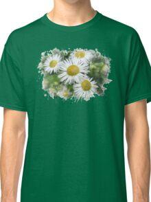 Daisy Watercolor Art Classic T-Shirt