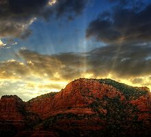 A Sedona Sunset  by Saija  Lehtonen
