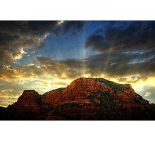A Sedona Sunset  Photographic Print