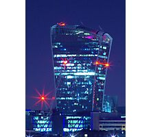 the walkie talkie building london Photographic Print
