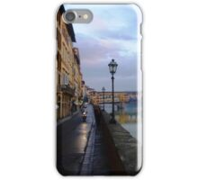 River to Road, Florence iPhone Case/Skin