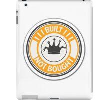 Jdm built not bought badge - orange iPad Case/Skin