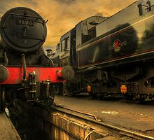 Vanilla Skies in the Engine Yard by phil hemsley