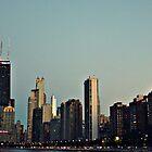 Chicago Skyline by Kristen Eckstadt
