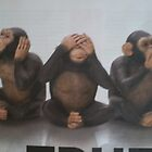Very Happy Chimps  by pinetrees
