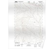 USGS Topo Map Oregon Beaver Butte 20110809 TM Poster