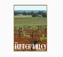 The Hunter Valley Retro Travel Poster Unisex T-Shirt