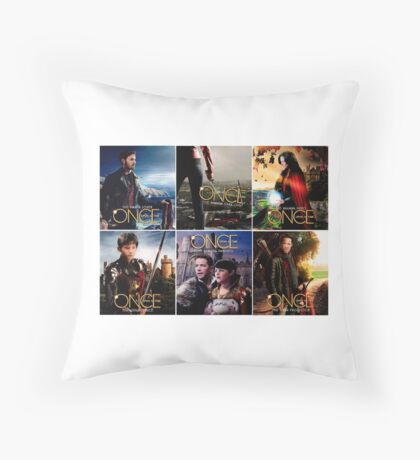 Once Upon Time  Throw Pillow