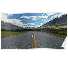 New Zealand Highway Poster